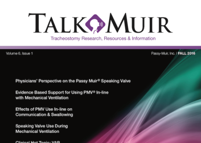 Talk Muir – Fall 2016