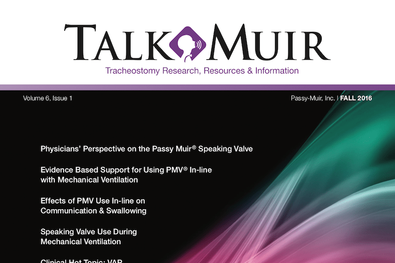 Talk Muir – Fall Edition 2016