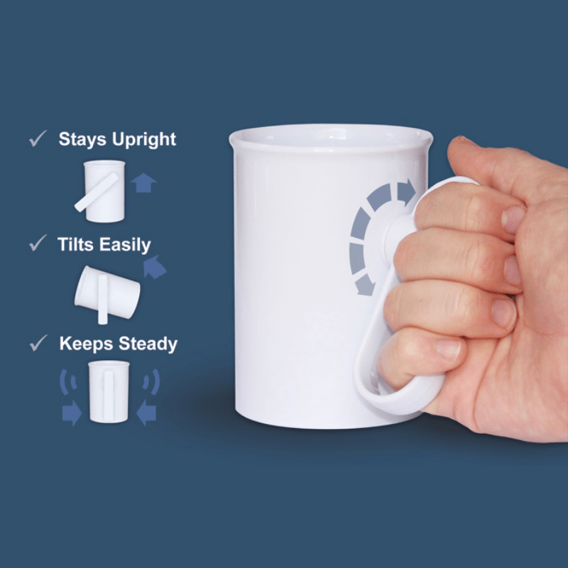 Benefits of the handSteady Cup - Sentient Healthcare