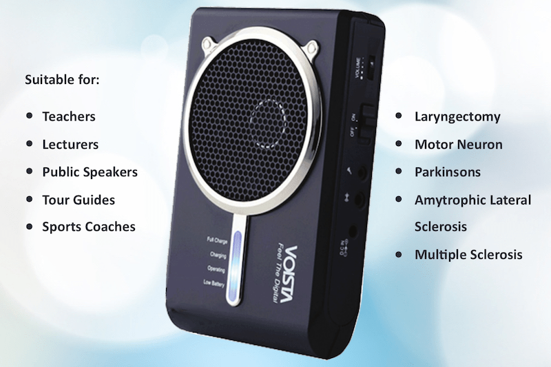 Introducing the Voista Digital Voice Amplifier