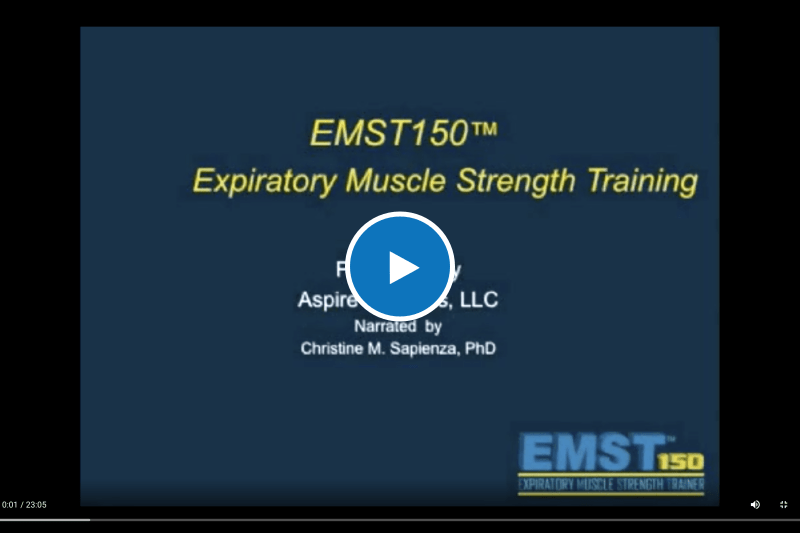 Video: Expiratory Muscle Strength Training as an Intervention
