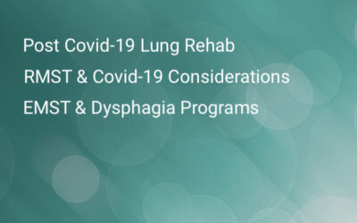 Recent Articles About Covid-19 and Lung Rehabilitation, EMST, and RMST
