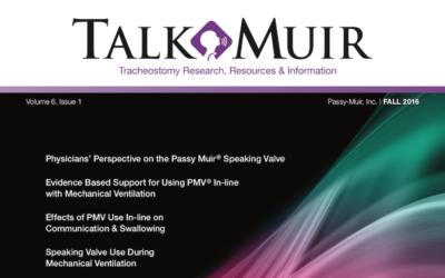 Talk Muir – Fall Edition 2016
