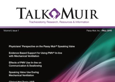 Talk Muir – Fall 2016