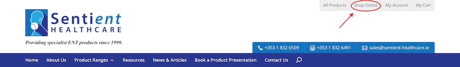 Shop Online Screenshot